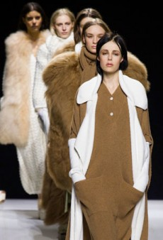 Sonia Rykiel's Softly Sophisticated Fall 2014 Collection (Runway Review)