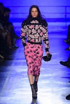 Emanuel Ungaro's Rather Rosy Outlook for Fall 2014 (Runway Review)