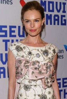 Kate Bosworth Pays Tribute to Kevin Spacey in Giambattista Valli