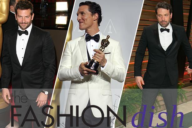 Bradley Cooper, Matthew McConaughey, Ben Affleck at the 2014 Oscars