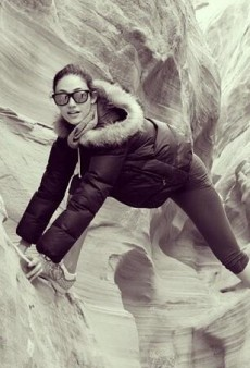 Socializing: Emmy Rossum's Rocky Workout and Other Celeb #Selfies of the Week
