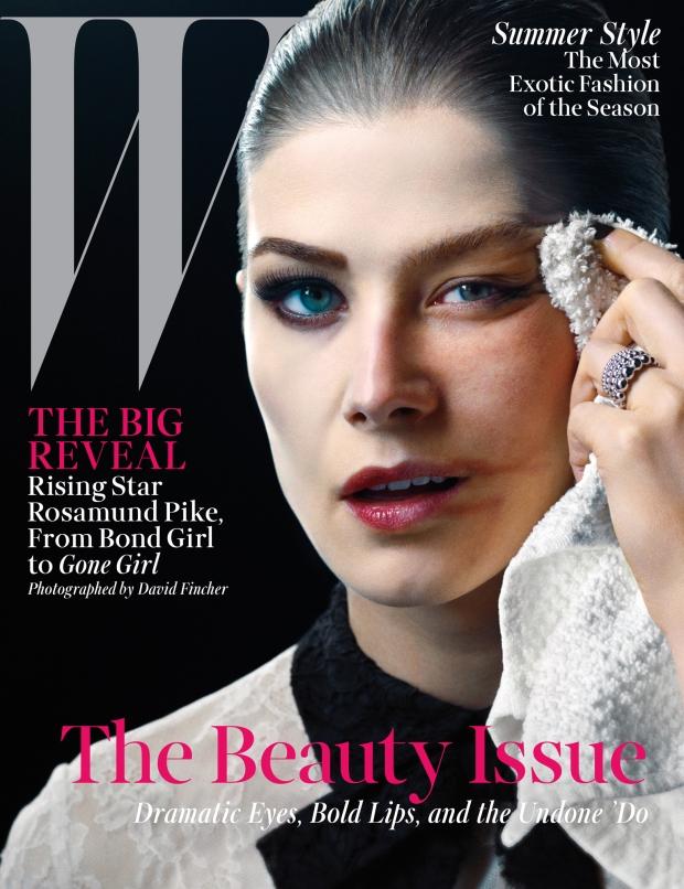 W Magazine May 2014 Rosamund Pike