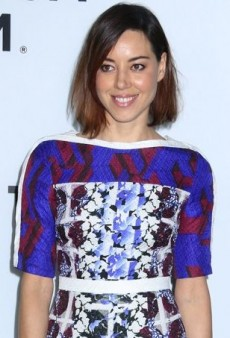 Aubrey Plaza Engages in a Little Pattern Play Courtesy of Peter Pilotto