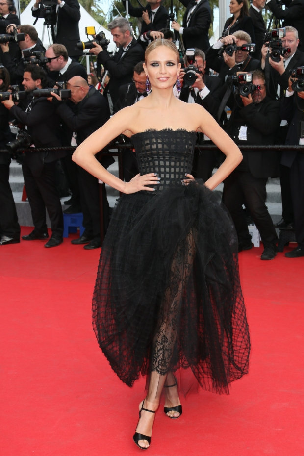 Natasha Poly at the 67th Annual Cannes Film Festival