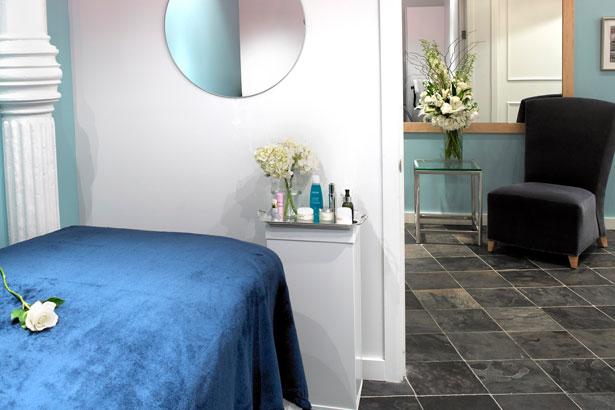 Bluemercury Spa Treatment Room