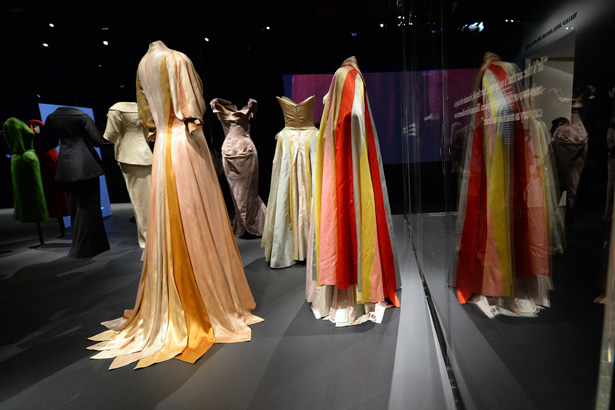 Dress from the Charles James: Beyond Fashion Exhibit