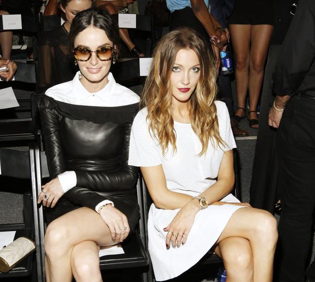 Nicole Trunfio and katie cassidy