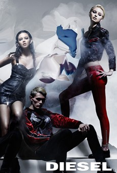 Nick Knight Photographs Nicola Formichetti's Debut Diesel Collection for Pre-Fall Campaign