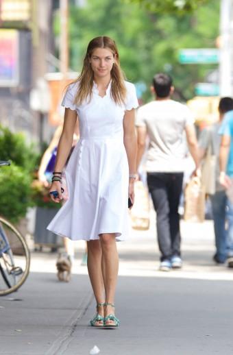Jessica Hart East Village New York City