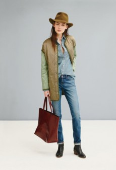 The Madewell Fall 2014 Collection Heralds the Return of Comfy Denim