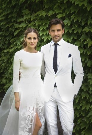Olivia Palermo Wedding Day