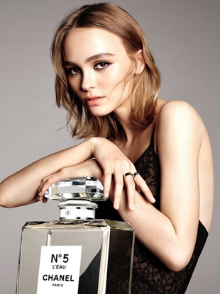Lily-Rose Depp is the face of Chanel's new No.5 L'Eau fragrance
