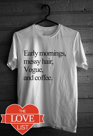 Love List Lazy Style