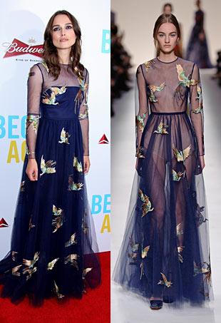 Keira Knightley Valentino Fall 2014