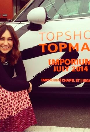 Zoe Foster Blake Topshop Emporium