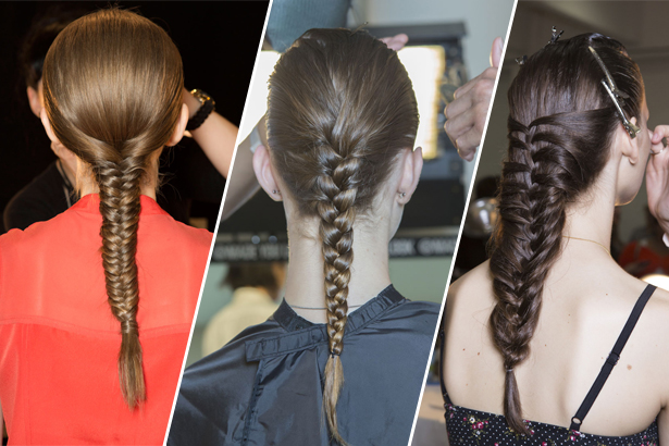 TK, TK, Suno braids at NYFW Spring 2015 via IMAXTREE