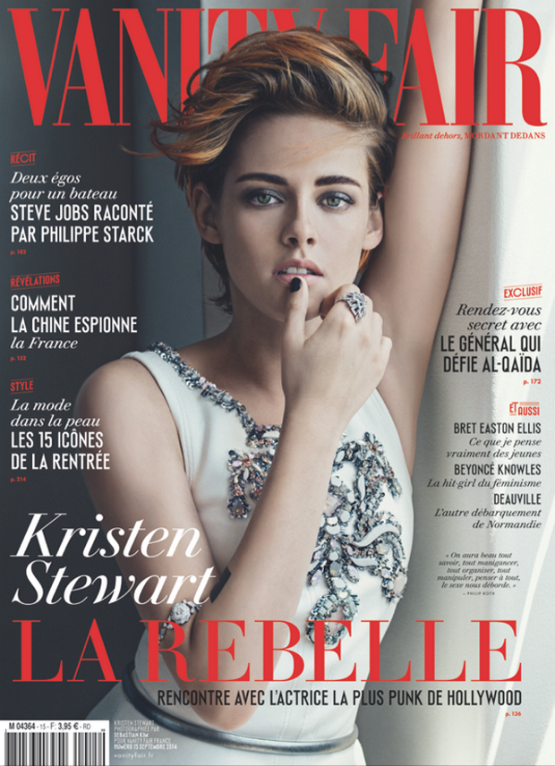 Vanity Fair France September 2014 Kristen Stewart