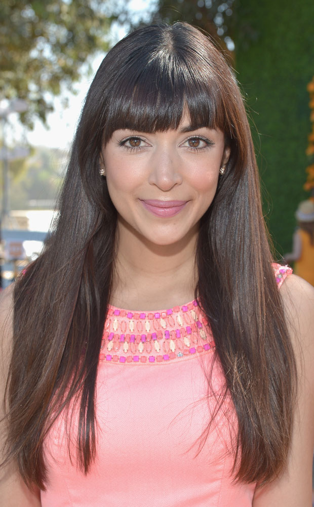 Actress Hannah Simone attends the Fifth Annual Veuve Clicquot Polo Classic at Will Rogers State Historic Park on October 11, 2014 in Pacific Palisades, California. Photo by Charley Gallay/Getty Images for Veuve Clicquot