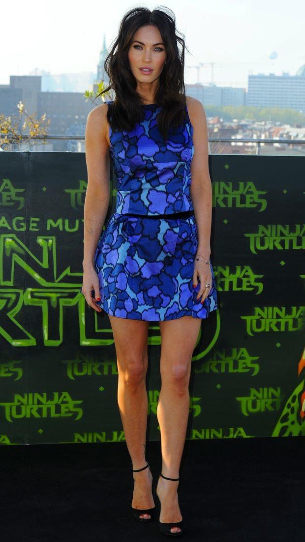 Megan Fox wears a Marc Jacobs outfit in Berlin