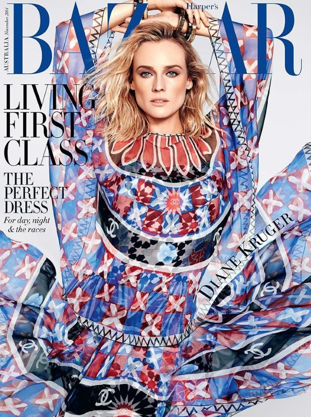 Harper's Bazaar Australia November 2014 Diane Kruger