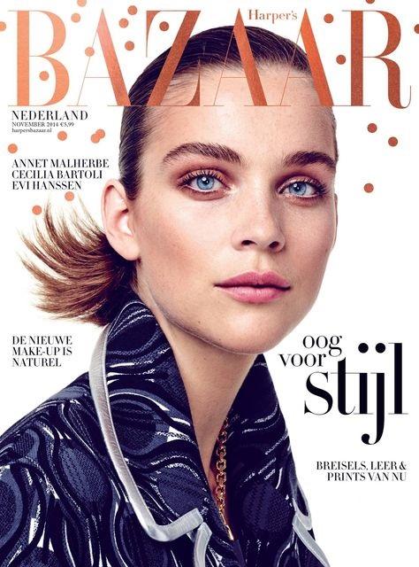 Harper's Bazaar November 2014 Kim Noorda