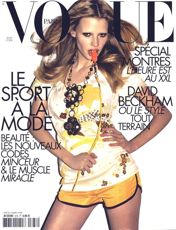Flashback Vogue Paris April 2007 Lara Stone Terry Richardson