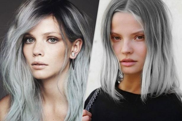 Beauty Trend Gray Hair Thefashionspot