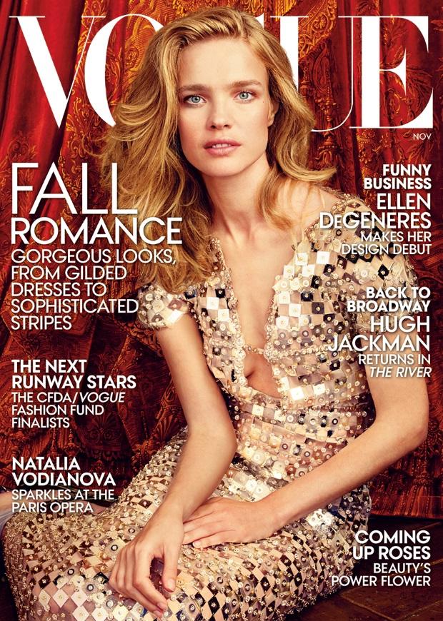 US Vogue November 2014 Natalia Vodianova