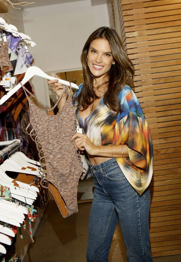 Alessandra Ambrosio Launches Swimwear Thefashionspot