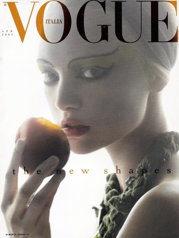 Flashback Vogue Italia April 2005 Gemma Ward