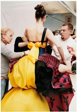 Nick Waplington/Alexander McQueen: Working Process