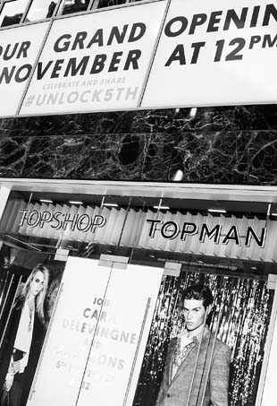Topshop on Fifth Avenue