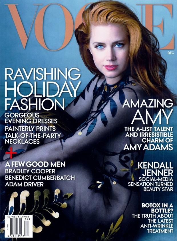 US Vogue December 2014 Amy Adams