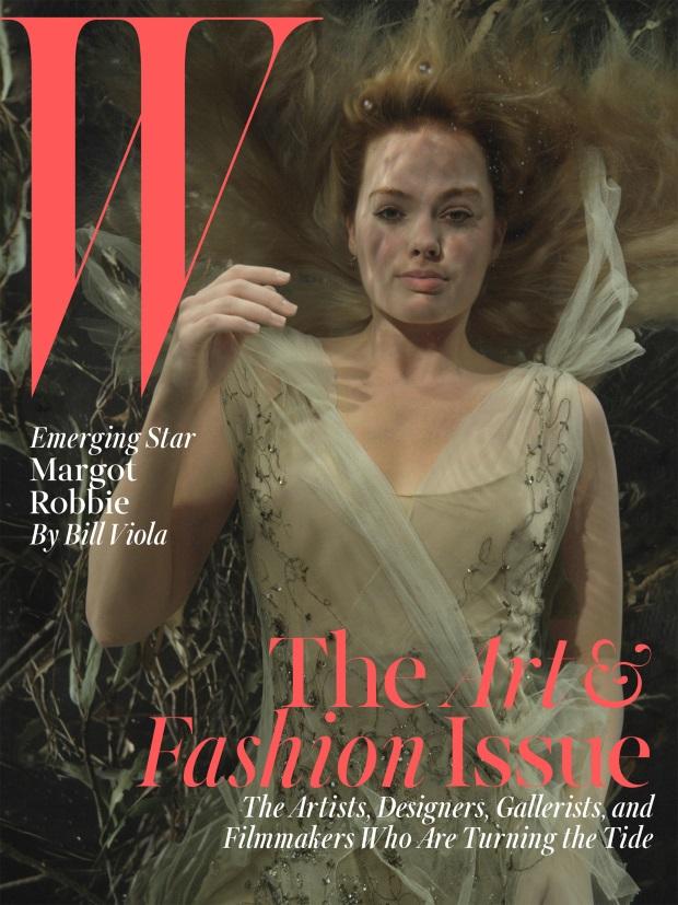 W Magazine December 2014 Margot Robbie