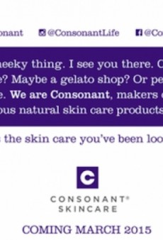 Consonant Skincare Announces New Location and Social Media Contest