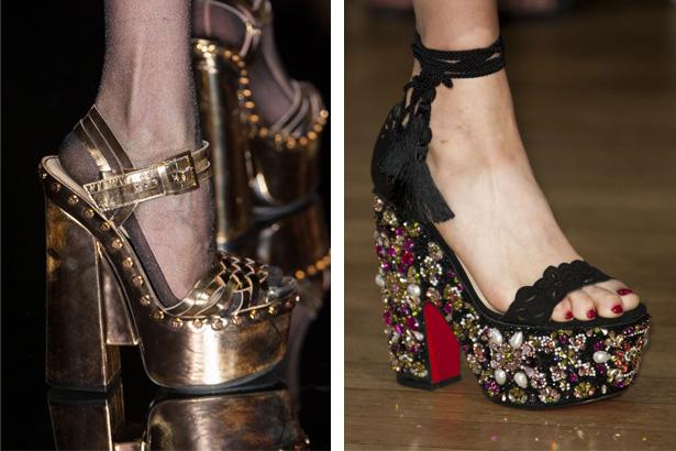 380b4ae6b33 Spring 2015 Platform Shoes  The Return of Glam Rock - theFashionSpot