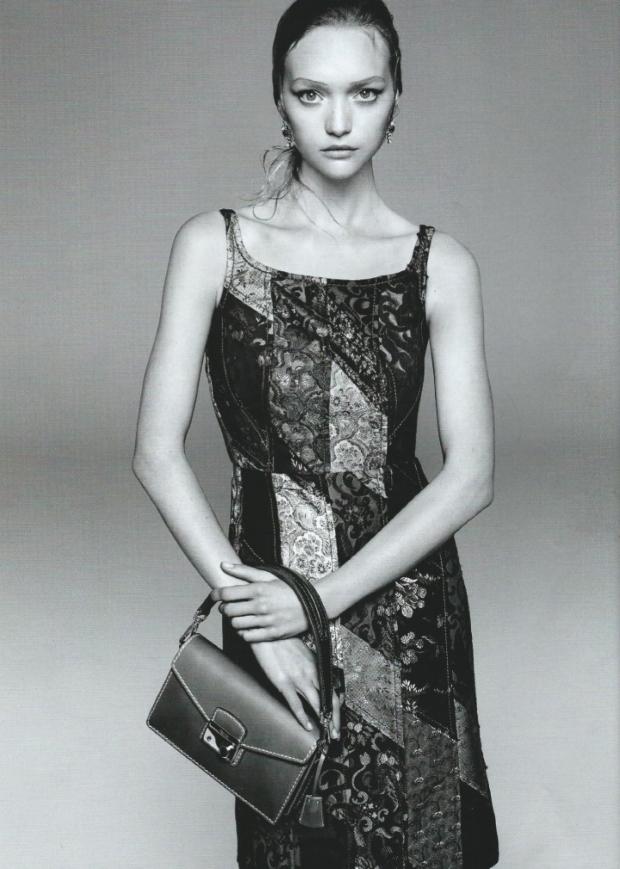 Ad Campaign Prada Spring 2014 Gemma Ward