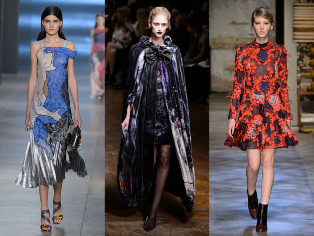 The Hits: Christopher Kane, Giles, Erdem. Images via IMAXtree.