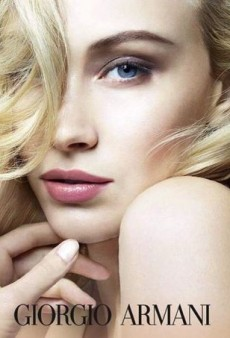 Sarah Gadon Is the New Face of Armani Makeup