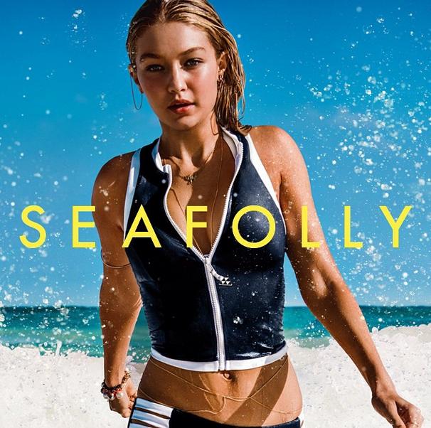 Gigi Hadid Seafolly