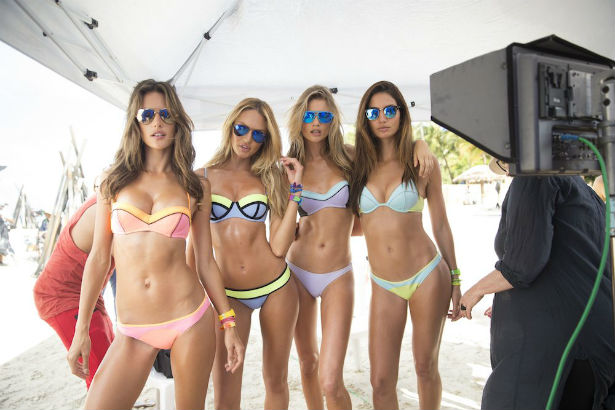 0b9608b9dc2 A Behind-the-Scenes Look at the Victoria's Secret Swim Special ...
