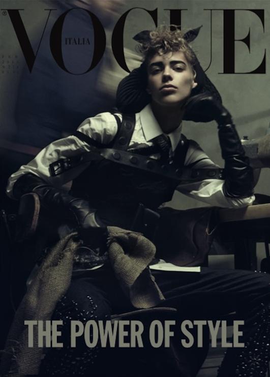 Vogue Italia February 2015 Lexi Boling
