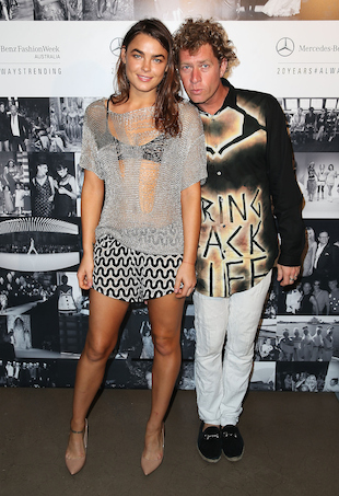 Bambi Northwood-Blyth and Dan Single at MBFWA 2015 Schedule Launch