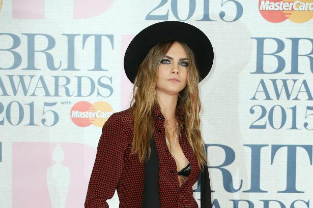 Cara Delevingne Brit Awards