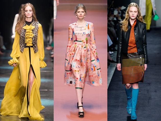 Looks from Milan Fashion Week