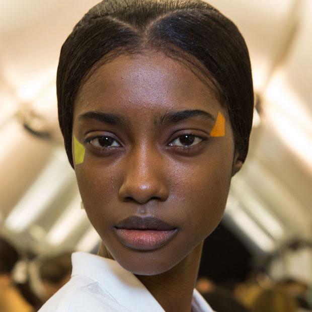 The makeup look at Issey Miyake Fall 2015