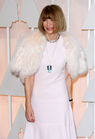 anna wintour red carpet
