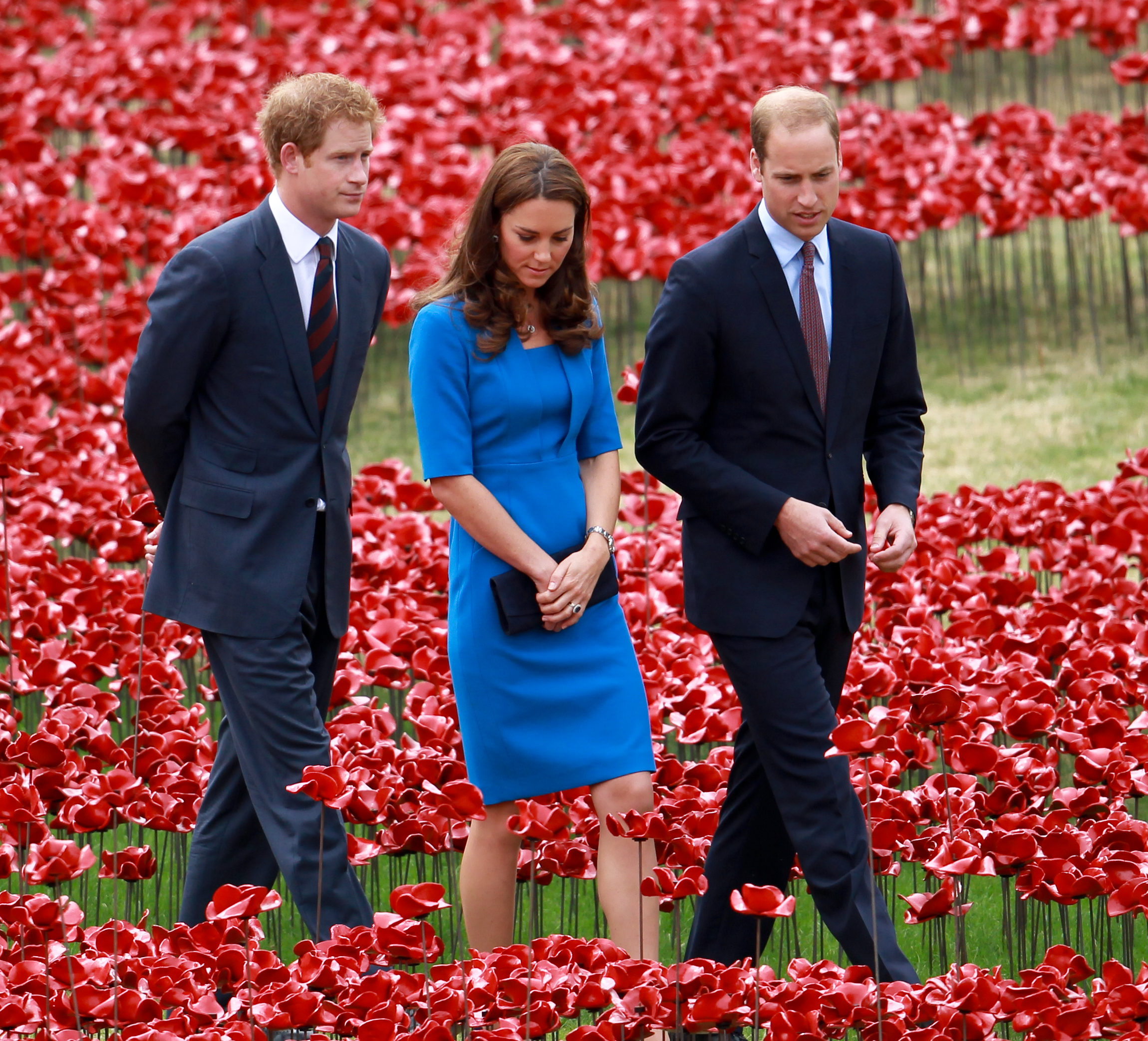 Prince Harry, Catherine Duchess of Cambridge and Prince William