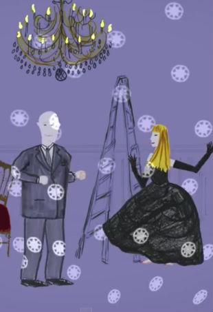 Dior Jewelry animated short