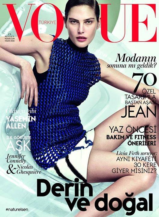 Vogue Turkey April 2015 Catherine McNeil David Slijper